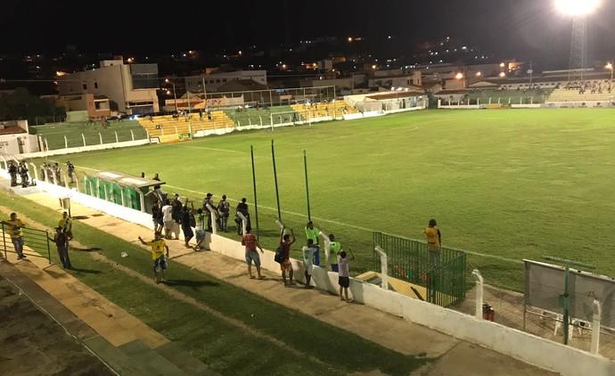 Picos x Piauí, Campeonato Piauiense  (Foto: Marcos Prado/TV Clube)
