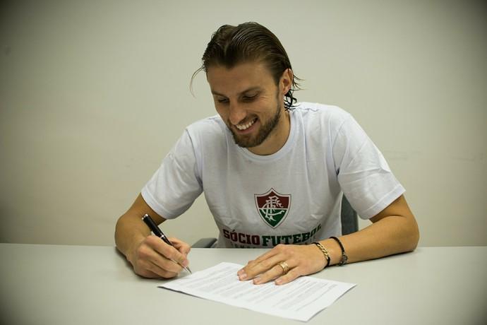 henrique fluminense contrato (Foto: Bruno Haddad / FluminenseFC)