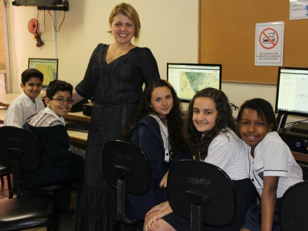 Professora Alessandra Rizzo criou um blog de História para ajudar os alunos (Foto: Divulgação/Alessandra de Paula)