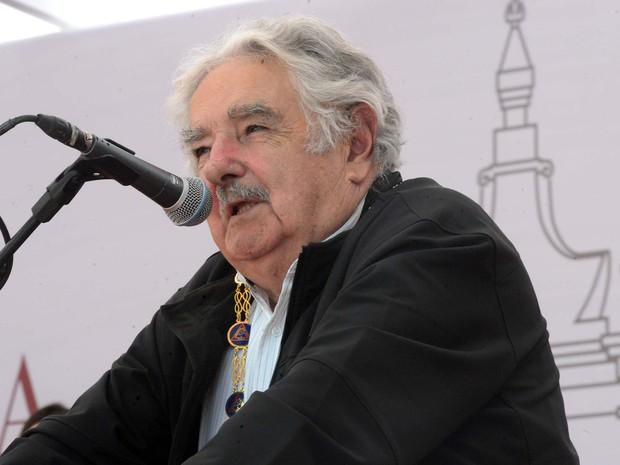 Ex-presidente do Uruguai, José Mujica, é homenageado em Ouro Preto (Foto: Marcelo Sant'Anna - Imprensa MG/ Divulgação)