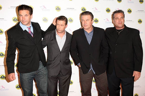Billy, Stephen, Alec e Daniel Baldwin (Foto: Getty Images)
