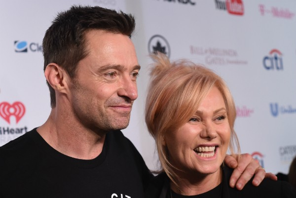 O ator Hugh Jackman e sua esposa, a atriz Deborra-Lee Furness (Foto: Getty Images)