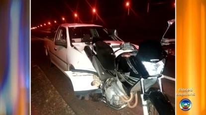 Motociclista morre em acidente provocado por motorista embriagado