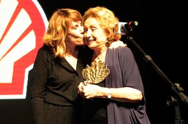 A atriz Eva Wilma foi a homenageada da 26ª edição do Prêmio Shell de São Paulo (Foto: Divulgação)