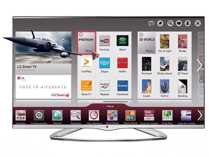Smart TV da LG (Foto: Divulgação/LG)