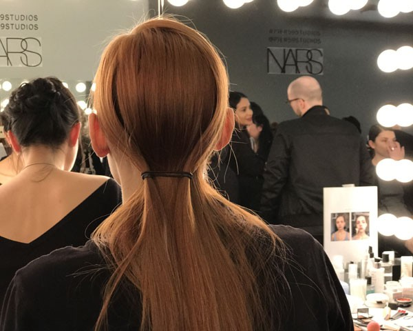 Detalhe do cabelo (Foto: Larissa Gomes)