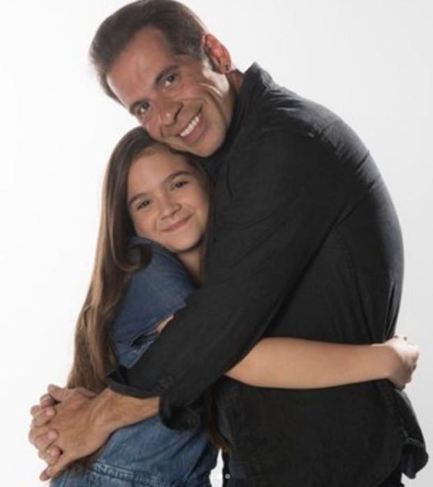 Mel Maia e Leandro Hassum (Foto: Arquivo Pessoal)