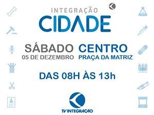 Integração Cidade é um evento da TV Integração e seus parceiros (Foto: Divulgação)