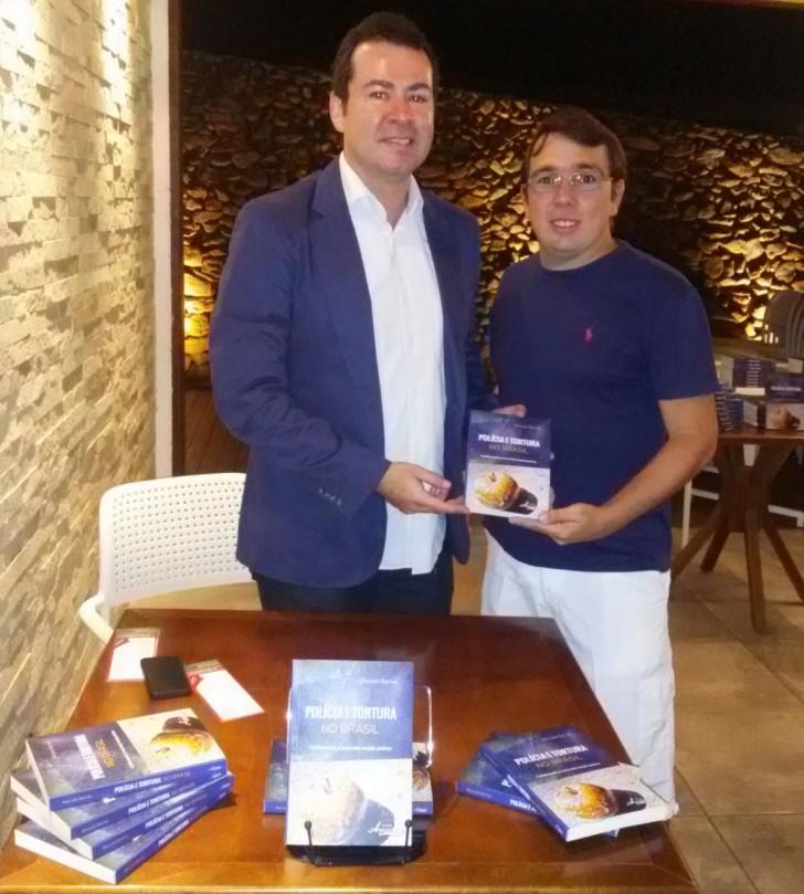 Delegado Marcelo Barros e Cáudio Xavier