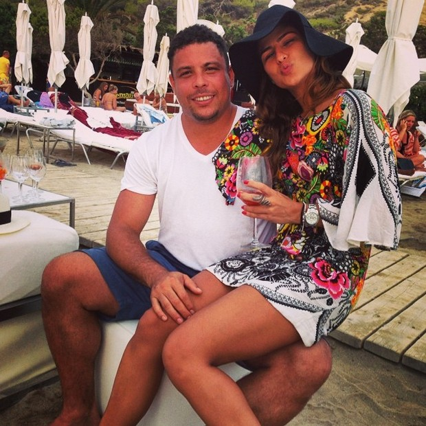 Ronaldo e Paula Morais (Foto: Instagram / Reprodução)