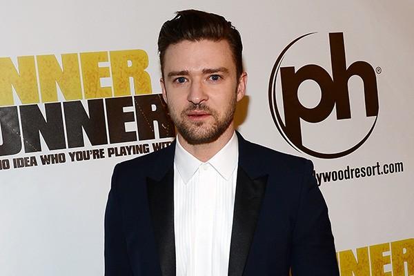 Justin Timberlake tem aracnofobia. Em entrevista, o astro afirmou que, se vê uma aranha no banheiro quando está num hotel, liga para a recepção. (Foto: Getty Images)