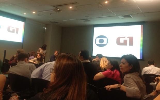 Encontro nacional de gestores do G1 (Foto: Zeca Soares/G1)