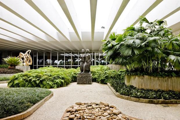 Um tour arquitetônico pelo Palácio do Itamaraty (Foto: Edgar César/ divulgação)