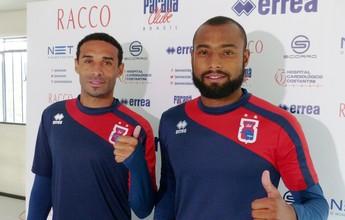 Nova dupla de zagueiros aposta no entrosamento para crescer no Paraná