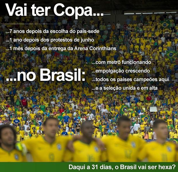 Selo Vai ter Copa (Foto: Editoria de Arte/G1)
