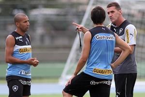 Botafogo treino Mancini (Foto: Vitor Silva / Botafogo)