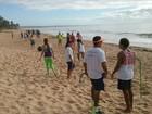 Evento promove aulão de funcional na praia (Ascom / Semel)