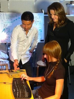 Christiane Pelajo na série Cérebro - Máquina de Aprender  (Foto: Divulgação / TV Integração)