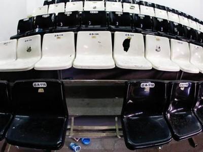 Cadeiras da Vila Belmiro Santos (Foto: Divulgação / Santos FC)