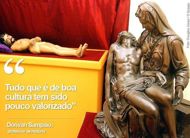 Museu dos Capuchinhos, em São Luís (MA), encontra-se fechado (Foto: Douglas Júnior / O Estado)