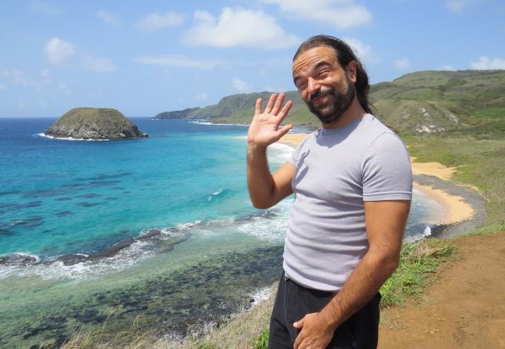 Paulo Campos na praia do Leão 3