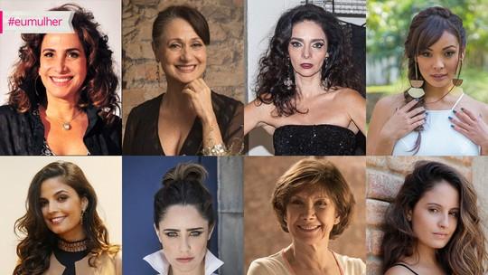Dia Internacional da Mulher: Atrizes explicam o que é ser mulher e os desafios em cada geração