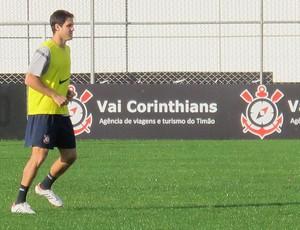 Martínez, treino do Corinthians (Foto: Gustavo Serbonchini / Globoesporte.com)