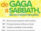 De Gaga a Sabbath, G1 lista discos que devem ser lançados em 2013