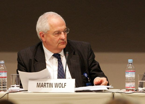 """Martin Wolf, comentarista de economia do jornal britânico """"Financial Times"""" (Foto: Junko Kimura/Getty Images)"""