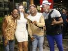 Márcio Victor comemora aniversário com amigos famosos na Bahia