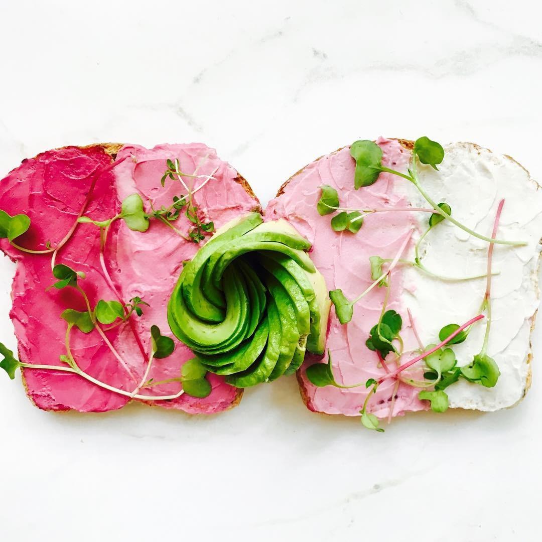 Comidinhas cor de rosa são tendência! (Foto: Reprodução/Instagram)