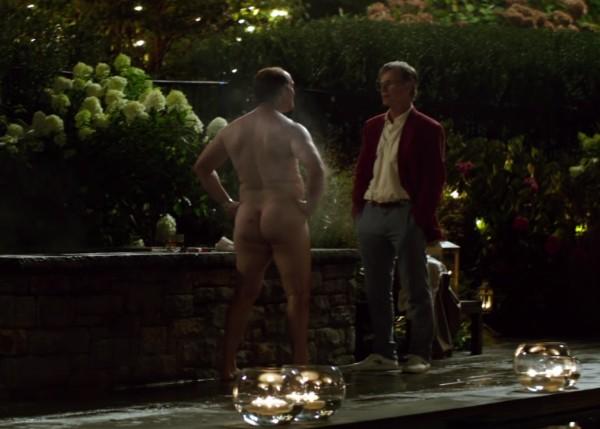 O ator Matthew McConaughey com o bumbum de fora (Foto: Reprodução)