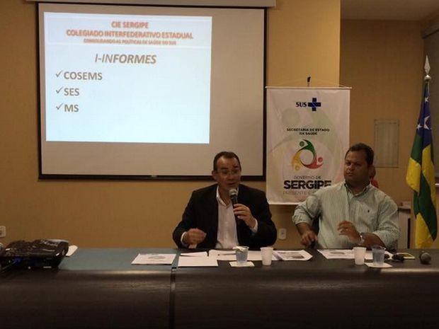 Dados sobre a dengue são apresentados  (Foto: Tasssio Andrade/G1)