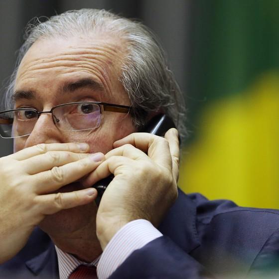 Eduardo Cunha presidente da Câmara afastado (Foto: Adriano Machado/Editora Globo)