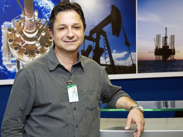 Marcelo Salomão trabalha como engenheiro de petróleo na Petrobras (Foto: Agência Petrobras de Notícias)