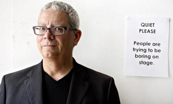 Vincent Connare, inventor da fonte de texto Comic Sans (Foto:  Linda Nylind/ The Guardian)