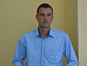 Edimar Coelho Silvério (Foto: Lauane Sena)