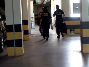 Documentos foram apreendidos durante operação de combate ao jogo do bicho no RN (Foto: Divulgação/Polícia Federal do RN)
