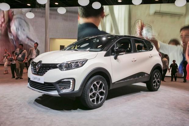 Renault Captur no Salão do Automóvel 2016 (Foto: Marcos Camargo/Autoesporte)