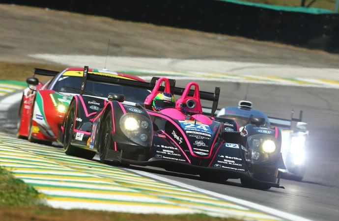Protótipos e GTs juntos na pista de Interlagos para as 6 Horas de São Paulo Mundial de Endurance (Foto: Luca Bassani / divulgação)