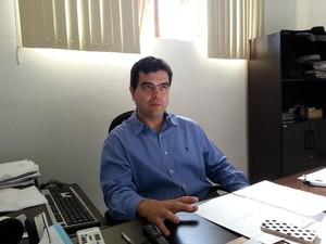 Cristiano Dib Delegado Araxá (Foto: Maritza Borges/G1)