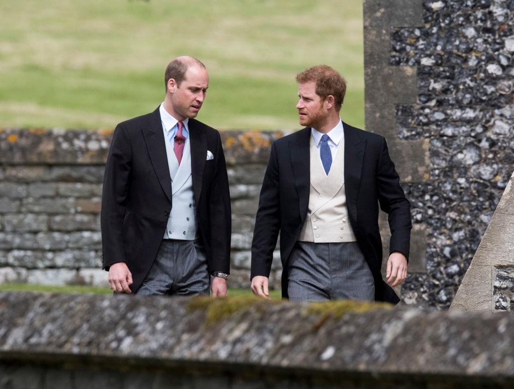 William e Harry vão falar sobre a morte da mãe após 20 anos (Foto: Getty Images)