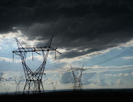 Linhas de transmissão de energia elétrica (Foto: Fábio Rodrigues Pozzebom / Agência Brasil)