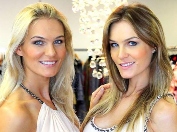As gêmeas Monica e Morgane Martin, de 'O Caçador', voltam à TV  (Foto: Arquivo pessoal)
