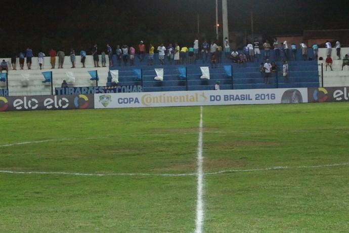 Estádio Pedro Alelaf, Parnahyba x Portuguesa  (Foto: Wenner Tito )