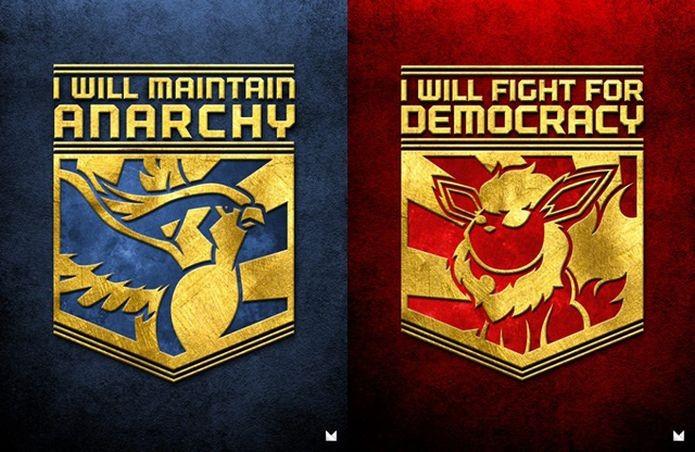 O jogo Twitch Plays Pokemon acabou dividido em dois times, com a passagem do tempo (Foto: Reprodução/Reddit)