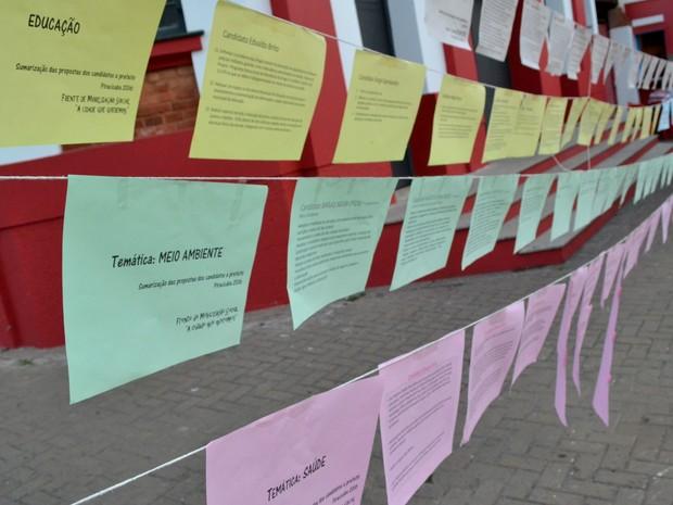 Propostas para a cidade foram discutidas durante encontros em Piracicaba (Foto: Rafael Bitencourt/Arquivo pessoal)