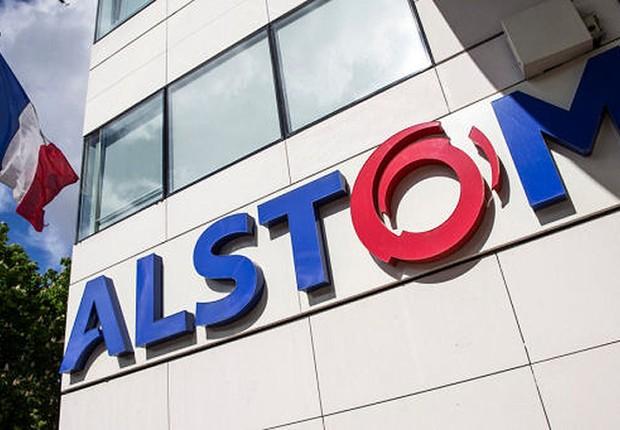 Sede da empresa Alstom na França (Foto: Chesnot/Getty Images)