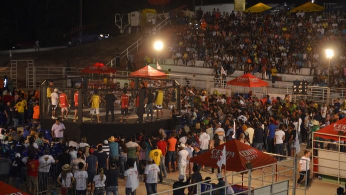MMA expofeira (Foto: Jonhwene Silva/GE-AP)