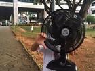 Segundo dia do Enem foi marcado por calor na UFMG, em Belo Horizonte